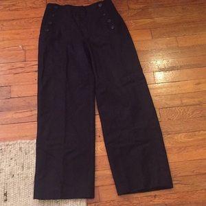 J Crew Wool Sailor Pants
